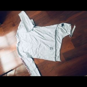 Vetements ripped sweatshirt.